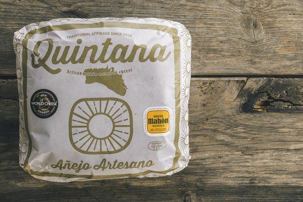Queso Quintana artesano Mahón Menorca Añejo